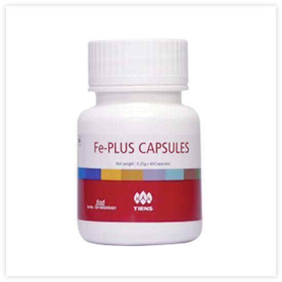 Picture of Fe-Plus capsules 0.25g 60capsules