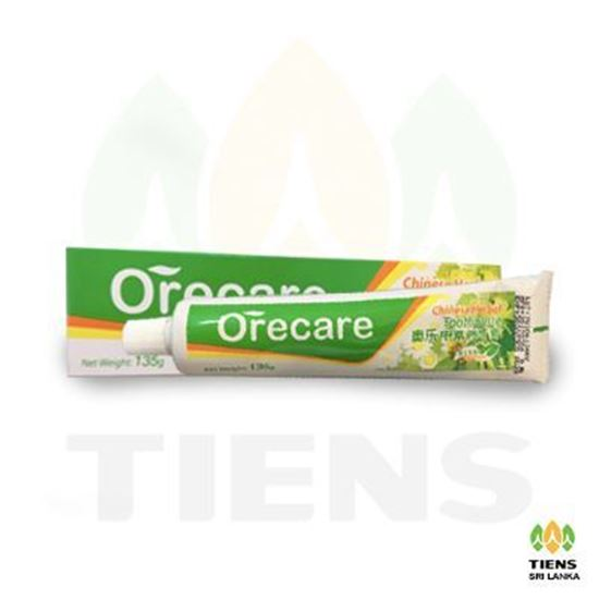 Orecare Chinese Herbal Toothpaste Chinese Version 135g(Including Tooth Brush)