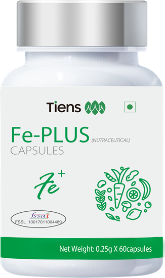 Picture of Fe-Plus capsules 0.25g 60capsules