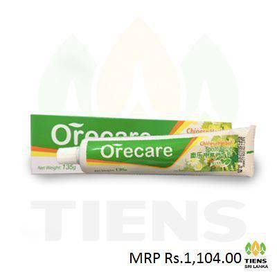 Picture of Orecare Chinese Herbal Toothpaste Chinese Version 135g(including Tooth Brush) -Engineering